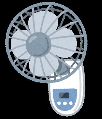 扇風機を設置