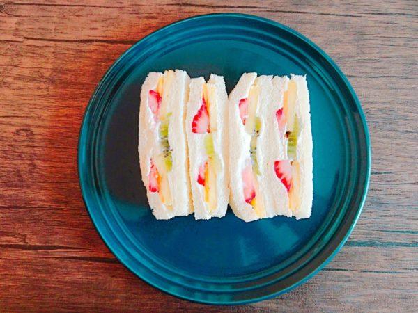 現在大人気のフルーツ系サンドイッチ