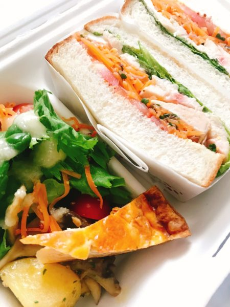 人気のサラダ系サンドイッチ